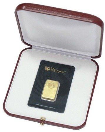 Etui na sztabkę CertiCard/CertiPack - bordowe