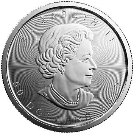 Platynowa Moneta Liść Klonu 1 uncja 24h