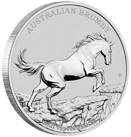 Srebrna Moneta Australian Brumby 1 uncja 24h