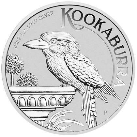 Srebrna Moneta Australijska Kookaburra 1 uncja 24h