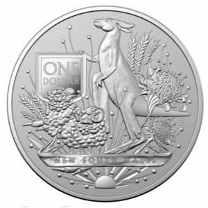 Srebrna Moneta Australijski Herb 1 uncja LIMITOWANA
