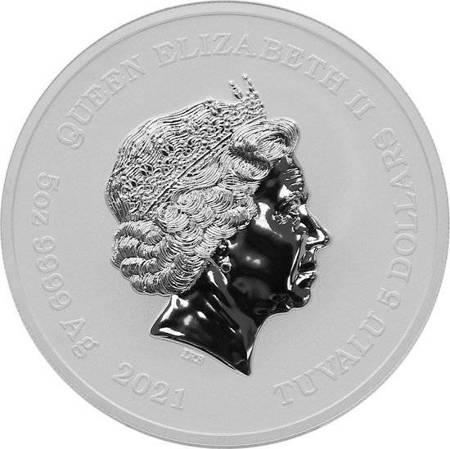 Srebrna Moneta Bogowie Olimpu: Hades 5 uncji 24h