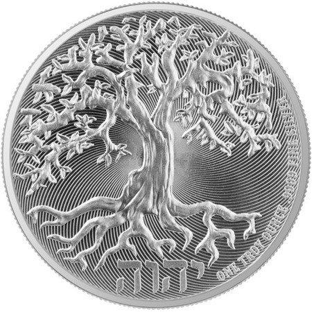 Srebrna Moneta Drzewo Życia 1 uncja LIMITOWANA