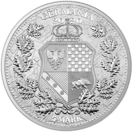 Srebrna Moneta Italia & Germania 1 uncja 24h