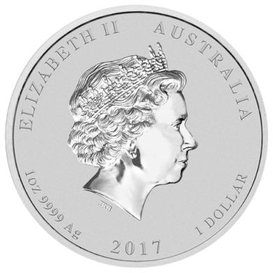 Srebrna Moneta Rok Koguta 1 uncja 24h
