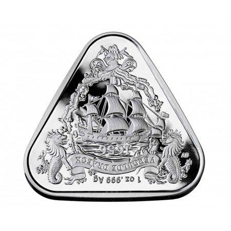 Srebrna Moneta Shipwreck Gilt Dragon 1 uncja