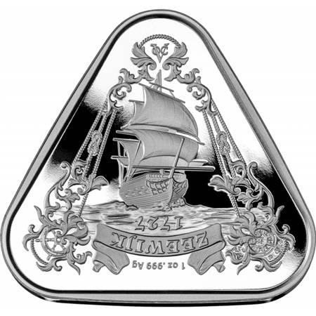 Srebrna Moneta Shipwreck Zeewijk 1 uncja 24h