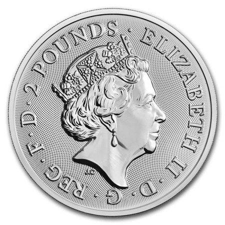 Srebrna Moneta Silver Landmarks Of Britain (Trafalgar Square) 1 uncja 24h