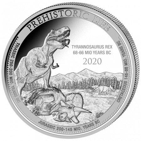Srebrna Moneta T- Rex 1 uncja 24h LIMITOWANA