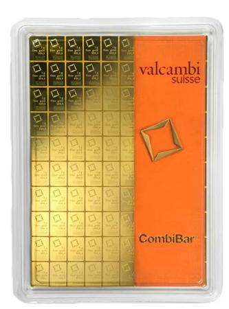 Sztabka Złota CombiBar - 100x1g 24h