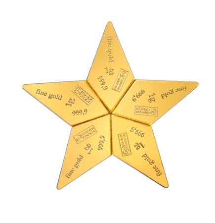 Sztabka Złota CombiBar Star 5x1g 24h