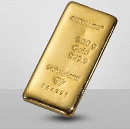 Sztabka złota 500g