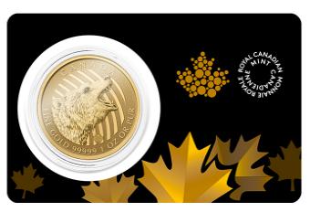 Zew Natury Grizzly Złota Moneta 1 uncja