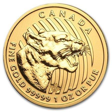 Zew Natury Puma Złota Moneta 1 uncja