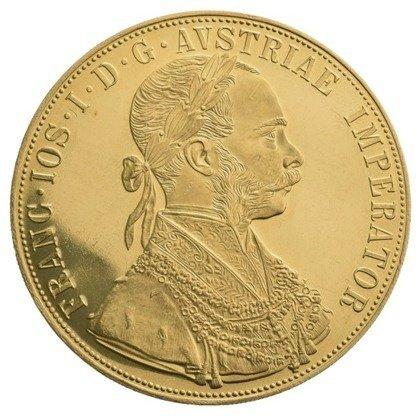 Złota Moneta 4 Dukaty Austriackie (Czworak) 13.96g 24h