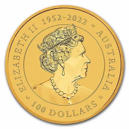 Złota Moneta Australijski Emu 1 uncja 2021r LIMITOWANA