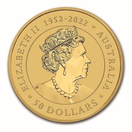 Złota Moneta Australijski Kangur 1/2 uncji 24h