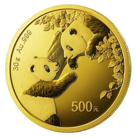 Złota Moneta Chińska Panda 30g