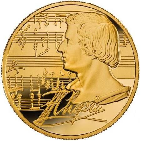 Złota Moneta Fryderyk Chopin 1 uncja 24h