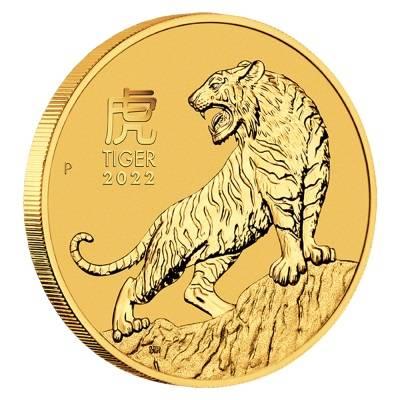 Złota Moneta Rok Tygrysa 1 uncja 24h